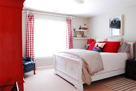 red and white bedroom furniture. Red And White Bedroom 20 Bold Bedrooms In Blue Colors Home Design Lover Furniture A