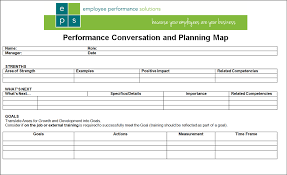 Sample Employee Performance Appraisal Simple 1 Page Performance Review Form