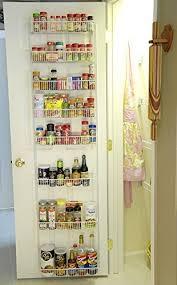 24 Inch Wide Adjustable Door Rack Pantry Organizer 4 Skymall: