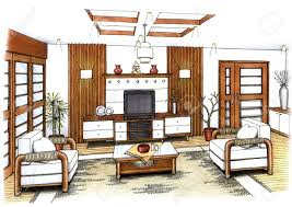 interior design living room drawings.  Drawings Interior Design Ideas  Interior Living Room Drawing  The  Wallpapers Intended Design Living Room Drawings O
