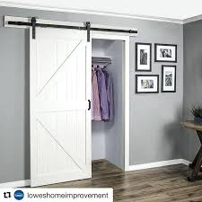 sliding barn door for closets furniture how to create barn door closet doors marvelous barn closet