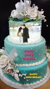 Name Photo On Anniversary Cake By Cruise Infotech Google Play