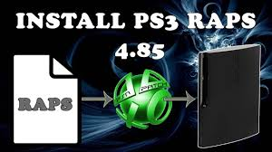 install ps3 raps file ps3 4 85