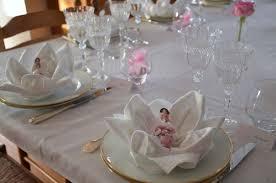 Décoration de baptême en rose et blanc - Cuisine gourmande et saine