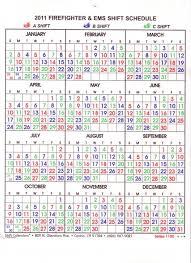 Firefighters Shift Calendar 2020 Firefighter Schedule Calendar Magdalene Project Org