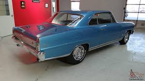 Chevrolet Chevy II Nova SS......True SS....Factory Marina Blue !!