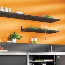 belt metal shelf brackets shown with sumo wooden shelves