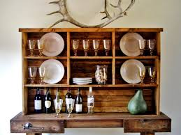 rustic hutch dining room: instant rustic storage and style with a diy hutch