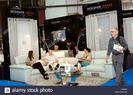 Ideal Home Exhibition Olympia London Stock Photo Royalty Free