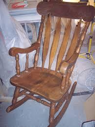 refinish rocking chair. Exellent Rocking The West Rocking Chair  Custom Refinish Before U0026 After With
