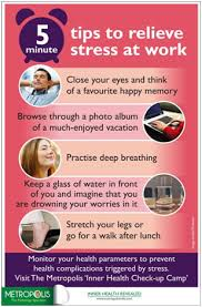 Pdf Ways To Relieve Stress At Work