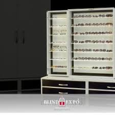 Optical Display Stands Blind Expò Armoured stand for Tobacco shops Display Cases for 52