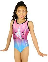 Snowflake Designs Unicorn Sublimated Gymnastics Or Dance Leotard