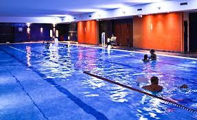 romp the swimming pool at the virgin active gym in bridgend where the five staff