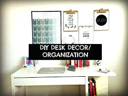 Decoration Ideas For Office Desk Decor Best Mesmerizing Interior