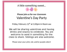 Class Party Invitation Valentines Day Class Party Invitation By Teach Like A Rider Tpt