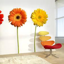 gerbera daisy wall art