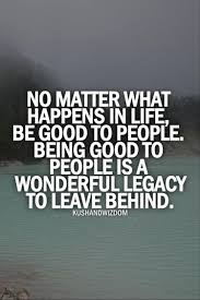 Being In A Good Place In Life Quotes