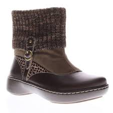details about l artiste ontario womens italian leather boots brown euro 36 us 5 5 6m