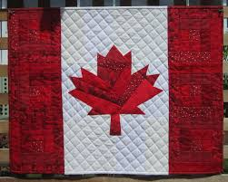 Red & White Maple Leaf Quilts | Neighbours in the Hood & It's ... Adamdwight.com