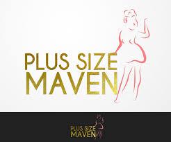 Image Size For Logo Design New Logo Design For Plus Size Maven A Top Plus Size