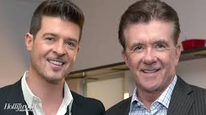 alan thicke robin thicke side by side. Perfect Side Throughout Alan Thicke Robin Side By Hollywood Reporter