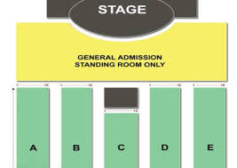 Borgata Events Center Seating Chart Borgata Event Center
