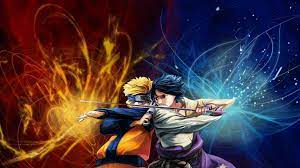 Naruto vs Sasuke HD Wallpaper | Hintergrund
