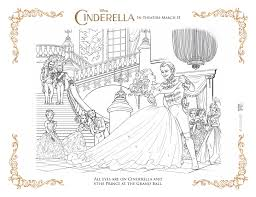 Cinderella coloring pages for kids and parents, free printable and online coloring of cinderella pictures. Cinderella Coloring Pages As The Bunny Hops