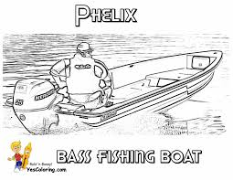 Small Picture Free Bass Fishing Boat Coloring Picture Free Sharp Ships Boats