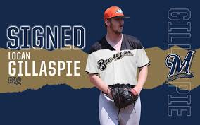 Logan Gillaspie Signs With Milwaukee Brewers United Shore