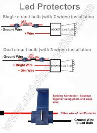 led flashers blinkers resistors load equalizers for turn signal installation diagram