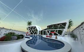 architecture 3d. villa design architecture 3d