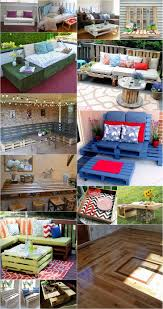 diy outdoor pallet furniture. Wooden Pallet Projects Plans - Coffe Table With Storage, Swing Chair, Chillout Diy Outdoor Furniture