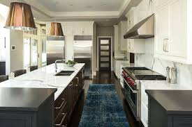 best kitchen rugs for wood floors stunning transitional kitchen clad in cherry wood floor panels accented
