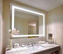 Hotel Bathroom Lighted Mirror The Art Hotel Guest Rooms Offer High Tech Amenities And