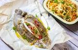 baked sole with a lemon ginger sauce