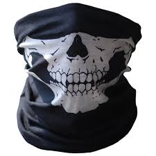 Face <b>Mask Bicycle Ski Skull</b> Half Face <b>Mask</b> Ghost Scarf Multi Use ...