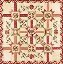 63 best Quilts of Valor assembly ideas images on Pinterest | Quilt ... & Vintage Rouge BOM- Block of the Month Kit Adamdwight.com