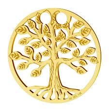 tree of life pendant gold 14k lkz 00450 0 30