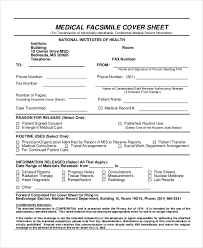fax cover sheet medical sample confidential fax cover sheet 6 documents in word pdf