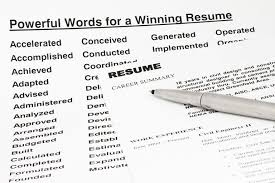 Resume Keywords And Phrases - Resume Templates