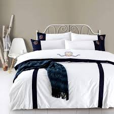 whole cotton bedsheet set quilt duvet cover bed set pillowcase oriental embroidery luxury bedding set queen king size brown bedding black bedding sets from