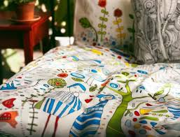 elvor duvet cover by kajsa aronsson for ikea