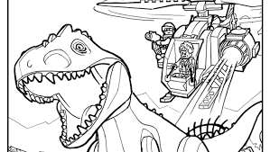 Coloring Page 1 Coloring Pages Lego Jurassic World Gb