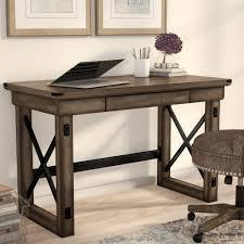 laurel foundry modern farmhouse gladstone writing desk reviews wayfair