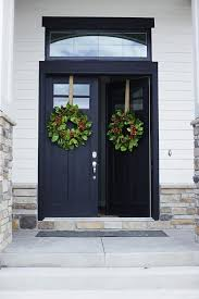 black double front doors. Black Front Entry Door Impressive Double Doors Design Garage N