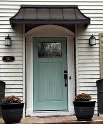 front door awning ideasnice simple easy fix for that no cover no porch overhang  the