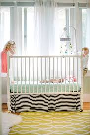 diy no sew crib skirt
