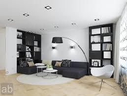 modern black white minimalist furniture interior. Living Room:Simple Minimalist Black And White Room Ideas Modern Furniture Interior U